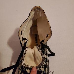 Converse Shoes - Converse black & white harlequin print shoes